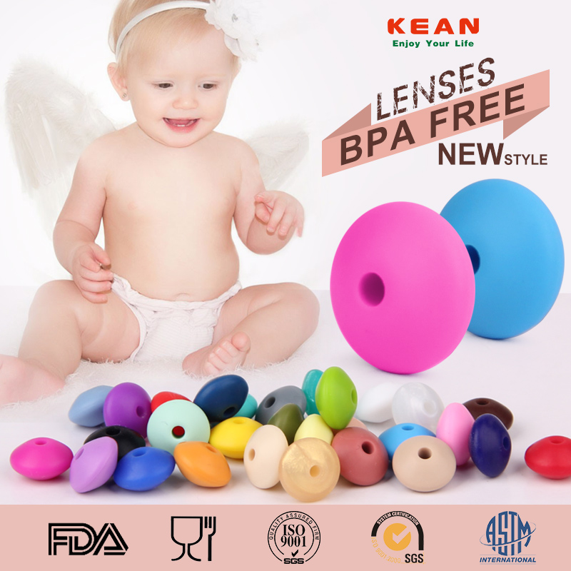 silicone teething beads loose