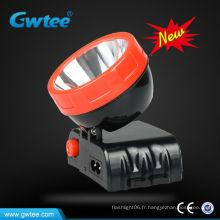 Lampe frontale rechargeable de 3 watts