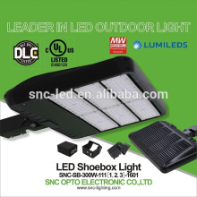 Factory Price UL CUL DLC IP65 LED Parking Lot Shoebox Light 300w