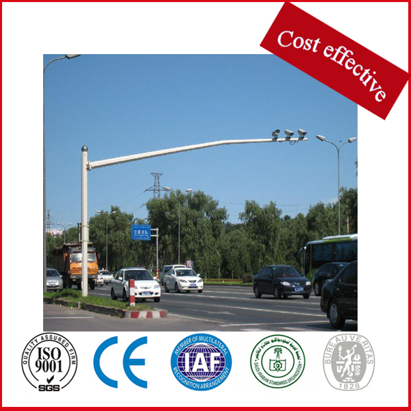 steel galvanized highway monitor traffic sign pole