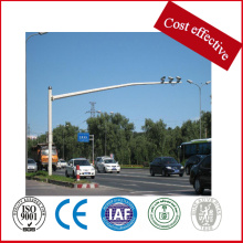 China New Product for Led Traffic Signals HDG traffic signals Steel poles export to Canada Factory