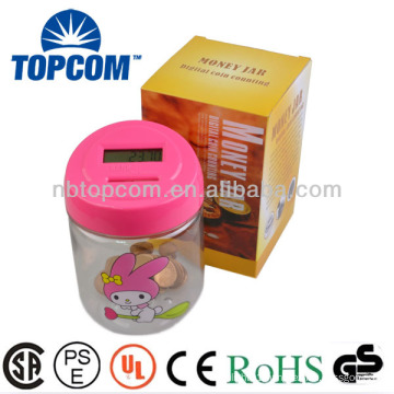 Plastic Digital Money Bank for Kids