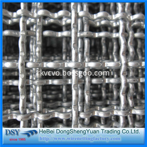 crimped wire mesh factory price