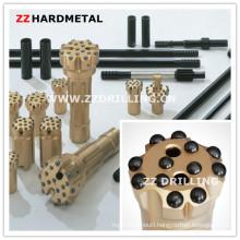 Chisel /Cross Drill Bits for Pneumatic Rock Drills