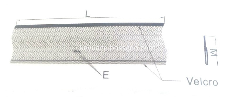 Expandable Polyester Mesh Sleeve size