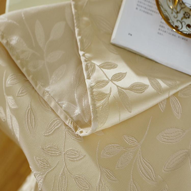 New Modern Jacquard European Type Window Curtain Fabric WZQ179