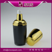 High quality and hot sale acrylic cosmetic snail serum bottle