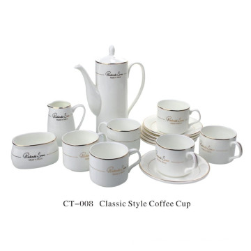 Classic Style Coffee Cup Set