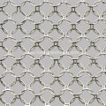 Decorative metallic mesh curtain