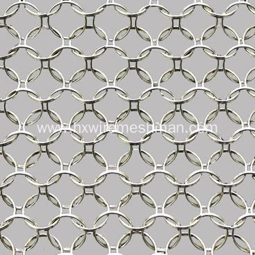 Stainless Steel Metal Ring Mesh