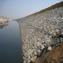 Slope Protection Gabion Box Retaining Wall