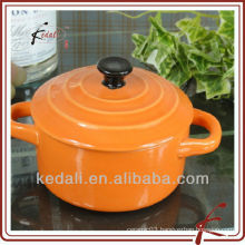 colored glaze ceramic stockpot cooker