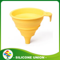 Mini Foldable Collapsible Style Silicone Funnel