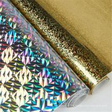 Rollos de lámina de estampado en caliente Película de PET holográfica láser