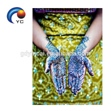 2018 Hot Selling Henna Stencils Body art Beautiful Mehndi Style Festival Supply