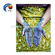 2018 venda quente Henna Stencils corpo arte bonita Mehndi estilo festival de abastecimento
