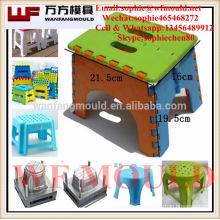 China suministra productos de calidad a los niños de plástico plegable silla molde / niño plástico inyección plegable silla molde hecho en China