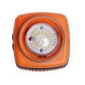 Linterna de goma de tamaño D con pilas, linterna de 1000 lúmenes