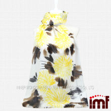 Bulk Wholesale-Flower Printed Woven China Cashmere Scarf for Girls