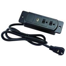 US Double prises de courant avec prise USB