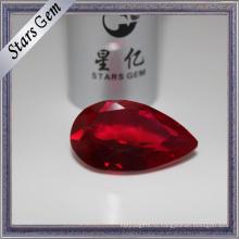 Красивый блеск и светящиеся #8 темно-красный Корунд рубиновый