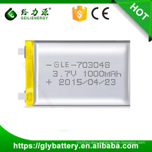 Geilienergy Custom Design Li-po High Capacity Battery 3.7V 10000mah Made In China