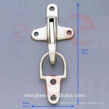 Cerradura de hebilla de avión de níquel para bolsa / estuche / equipaje (P2-31A)