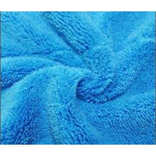 Toalla de microfibra / lavado de coches suave / toalla limpia de hogar colorido