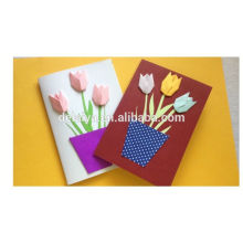 2017 New Arriving Fancy Paper Greeting Cards
