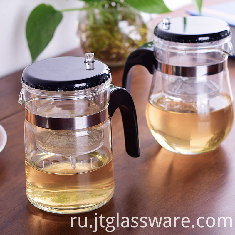 fire resistant glass teapot