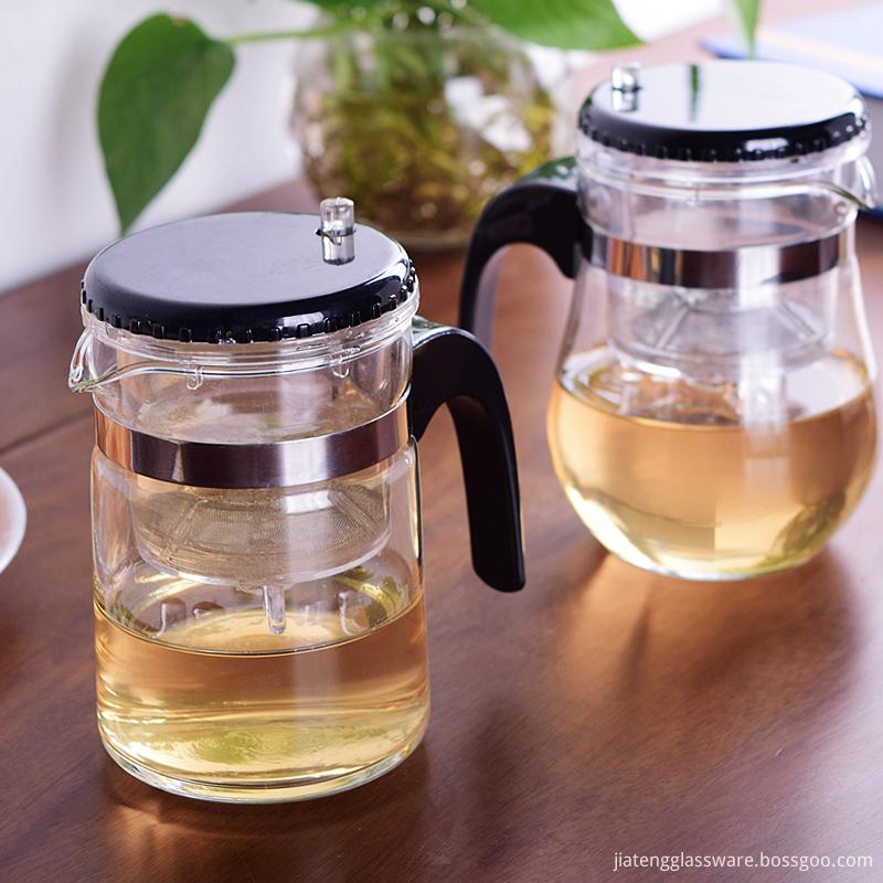 fire resistant glass teapot