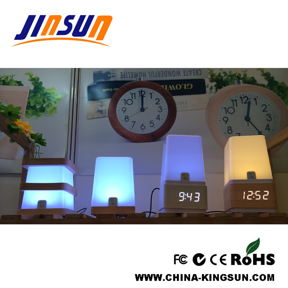 Table Lamp With Led Clock 4