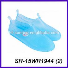 clear beach shoe for men water walking shoe pvc beach shoe