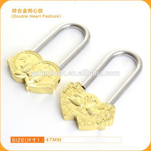Free Sample!Love Lock ,Rose Shaped, Wish Lock, Love Padlock with Long Shackle