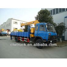 DongFeng 145 crane truck(5 tons crane)