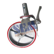 8 Inch Systems Scaffolding Pu Caster Iron Wheel C8p With Lock
