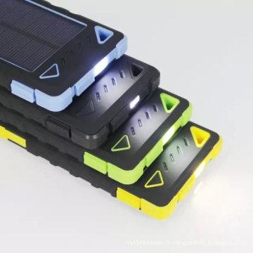 Chargeur solaire de banque de puissance de téléphone portable dans la meilleure qualité