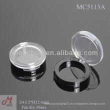 MC5113A Shantou leere einzelne Lidschatten Fall, einzelne Lidschatten Pfanne Verpackung, Lidschatten einzigen