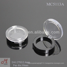 MC5113A Shantou étui vide en une seule fois, unique en forme de paupières, ombre à paupières célibataire