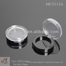 MC5113A Shantou empty single eyeshadow case, single eyeshadow pan packaging, eyeshadow single