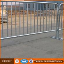 Fabricant galvanisé à chaud de barrière en métal de contrôle des foules