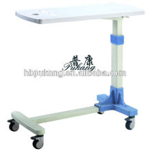 2016 F-33 ABS hospital movable over bed table, hospital bed dining table, hospital bed tray