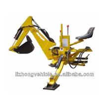 Precios de retroexcavadora nueva venta por mayor de China, 3 puntos fijación de retroexcavadora, retroexcavadora cargadora de tractor de jardín pequeño
