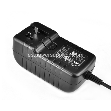 Adaptador de corriente de enchufe desmontable de 18V 2000Ma
