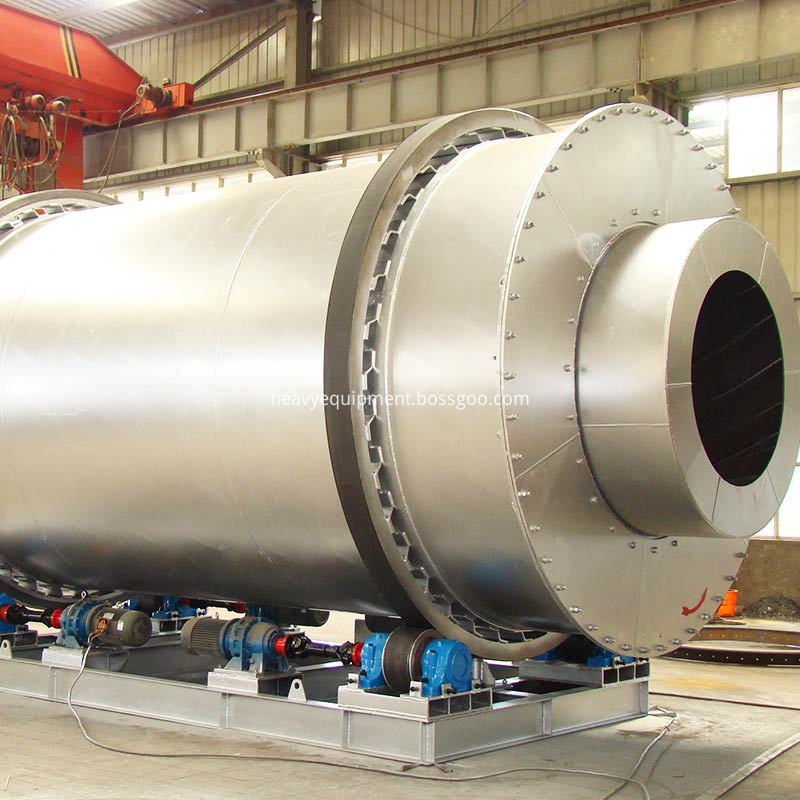 Stainless steel rotary dryer