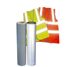 Easyweed Silvery Grey Color Reflective Heat Transfer vinyl film rolls for safety vest