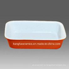 Diseño personalizado venta por mayor porcelana para hornear