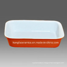 Customized Design Wholesales Porcelain Bakeware