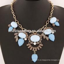 2015 Collar superior del ahogador de la gota del Rhinestone del diamante de la venta