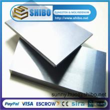 Tungsten Sheet, Tungsten Plate with Standards ASTM B760